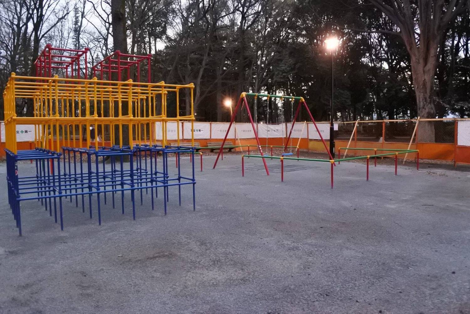 石神井公园栎树广场图片