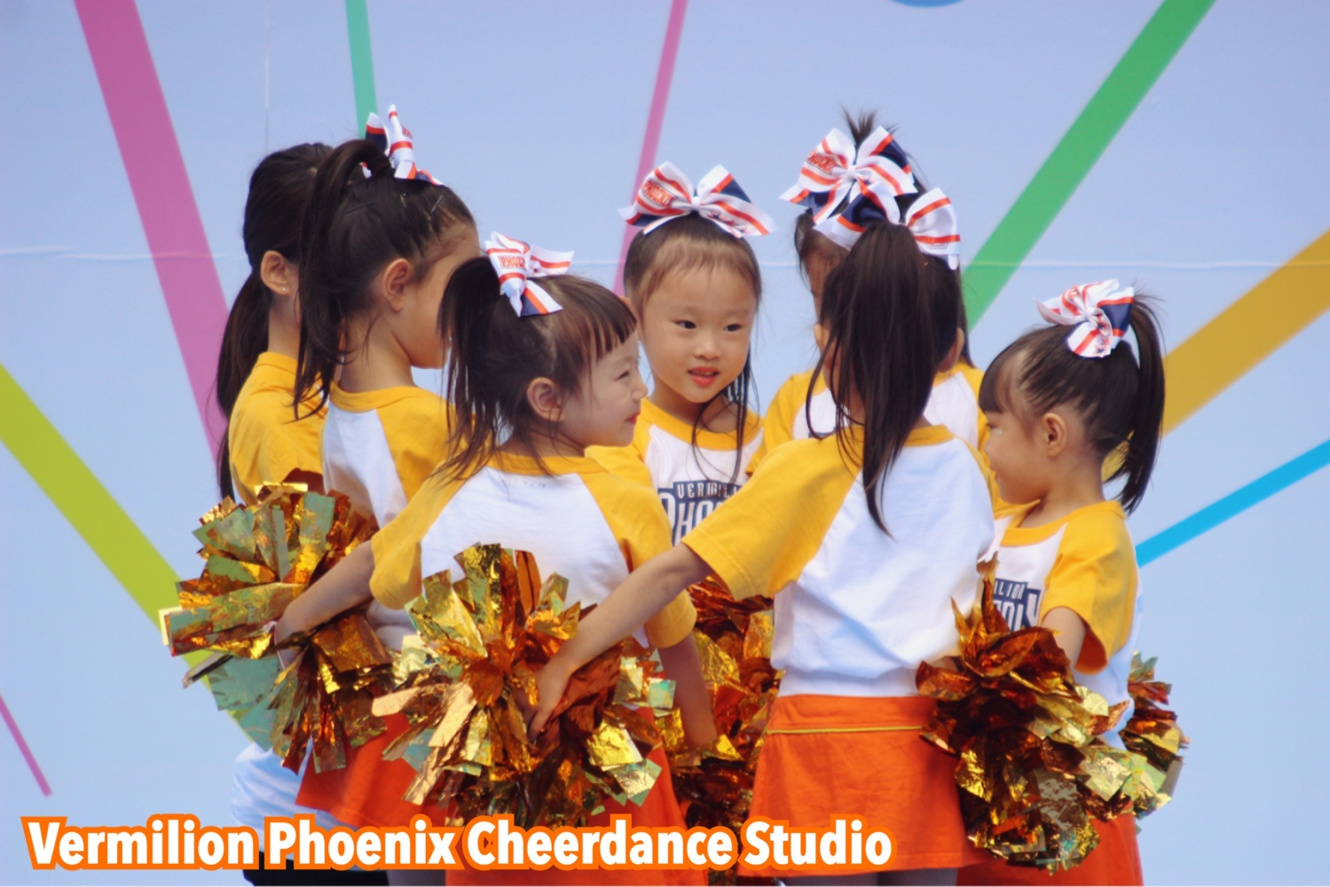 Vermilion Phoenix Cheerdance Studio 네리마 축제