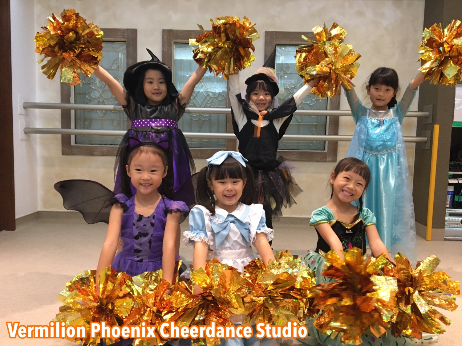 Vermilion Phoenix Cheerdance Studio 할로윈 레슨