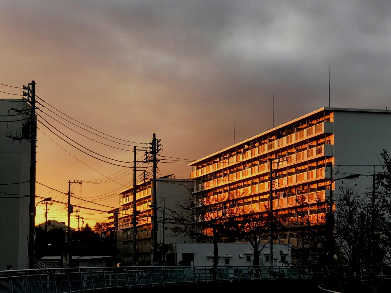 Take setting sun