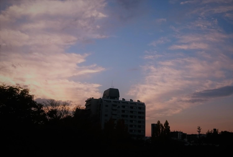 秋天的黄昏