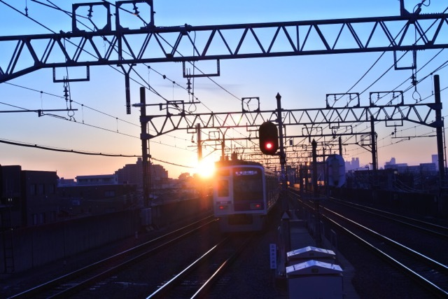 First sunrise of a new year image of 2017 Nerima