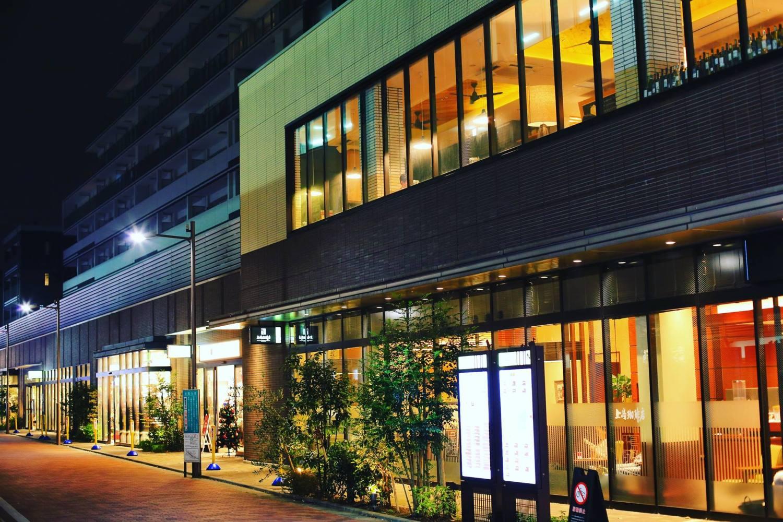 밤의 샤쿠지이코엔역