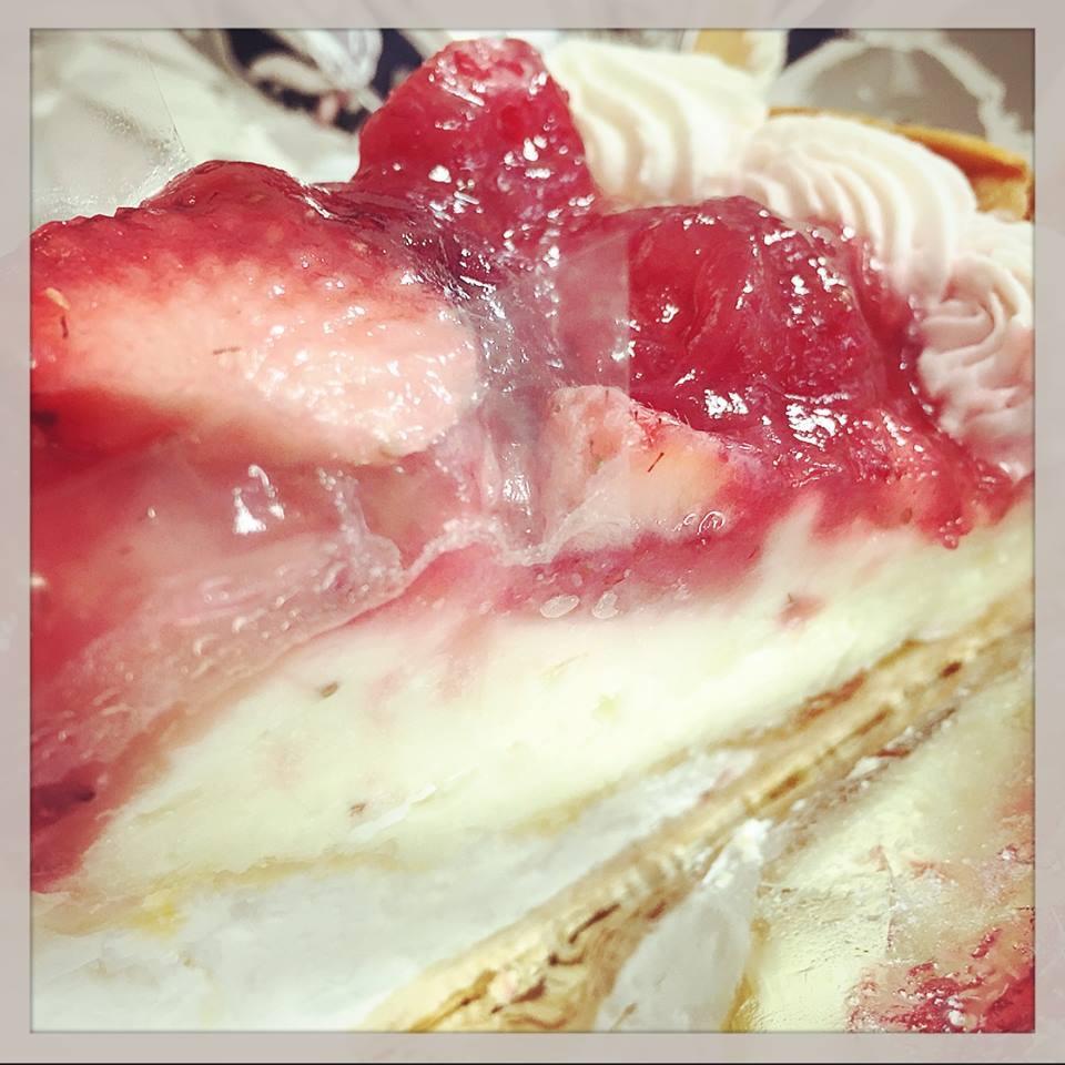 거리의 케이크 상점