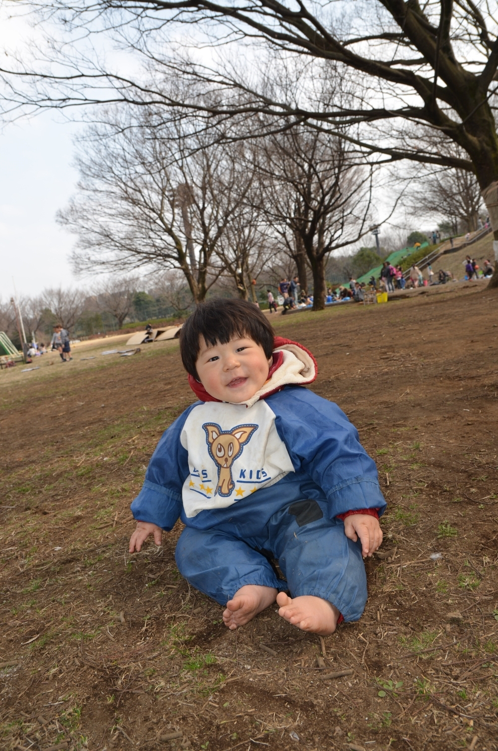 We went to Oizumi-Chuo Park play park.