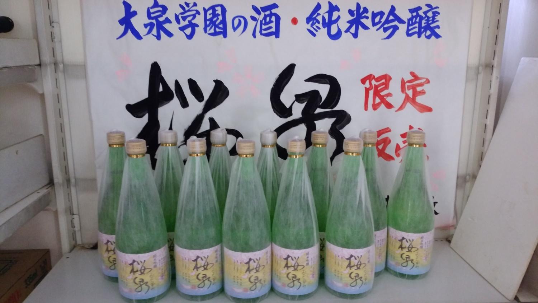 오이즈미가쿠엔의 술·벚꽃천(많은 완료) 올해도 발매되었습니다