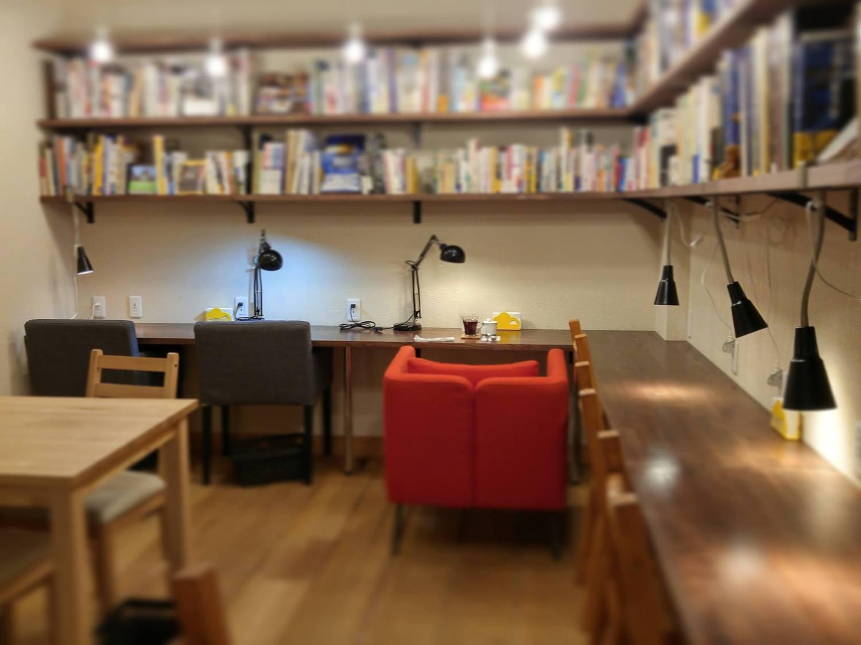 """""""Illustrated book cafe of adult"""" fumikura (fumikura) image"""