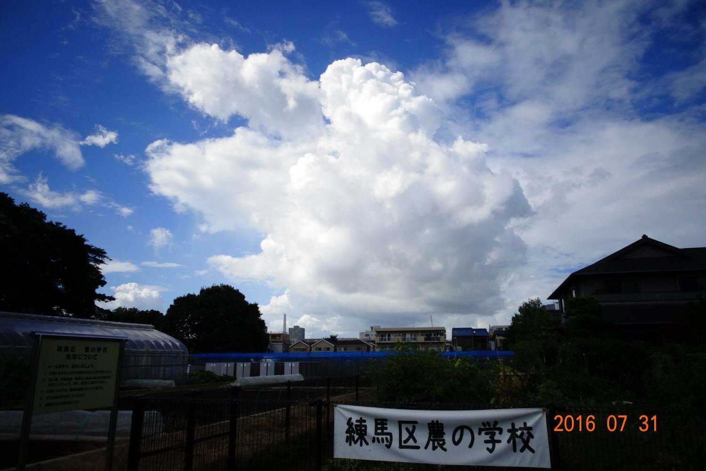 夏天的雲圖片
