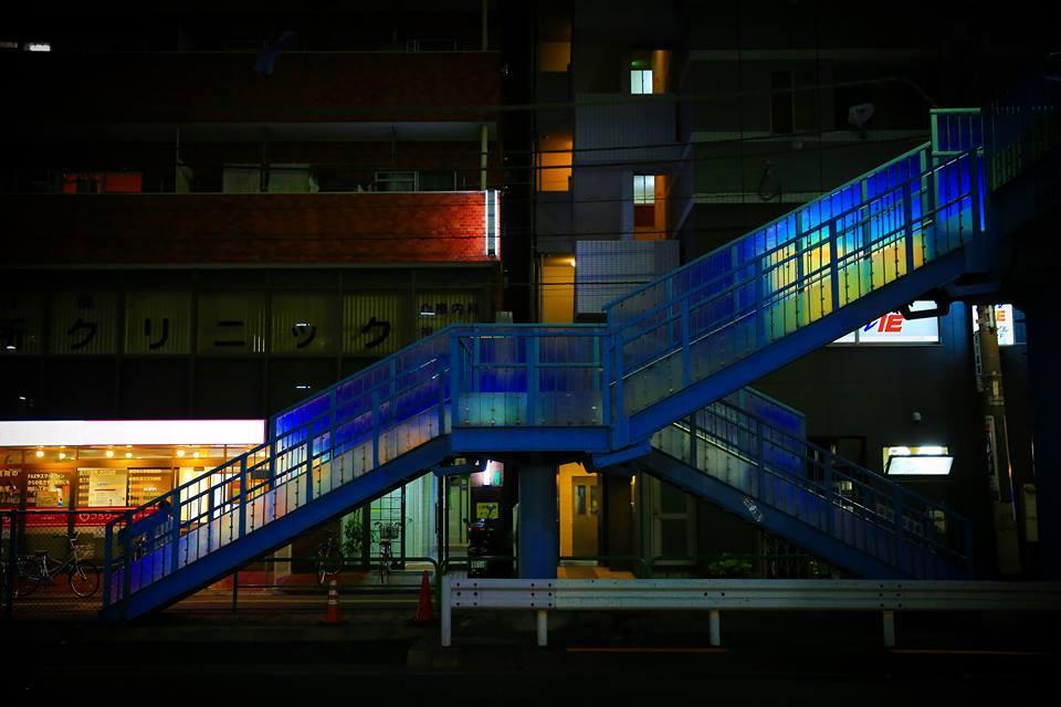 中村橋步行天橋