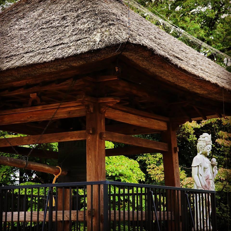 茅草屋頂的禪定院