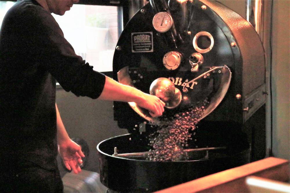 咖啡豆~拘泥的自家焙煎~