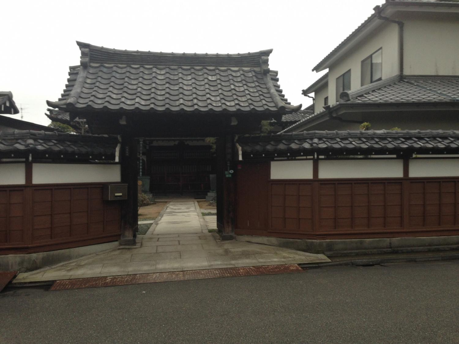 Temple image of the Jodo sect of Buddhism