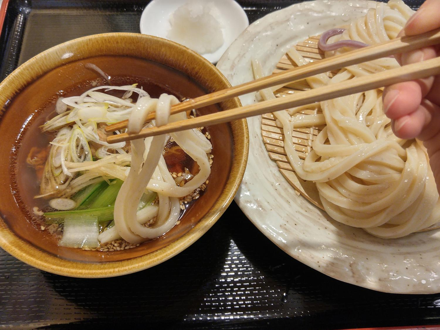 Ask for line to eat udon; Part1