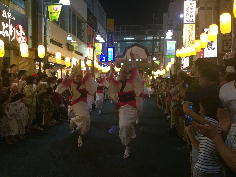 나카무라바시 아와 춤 ④