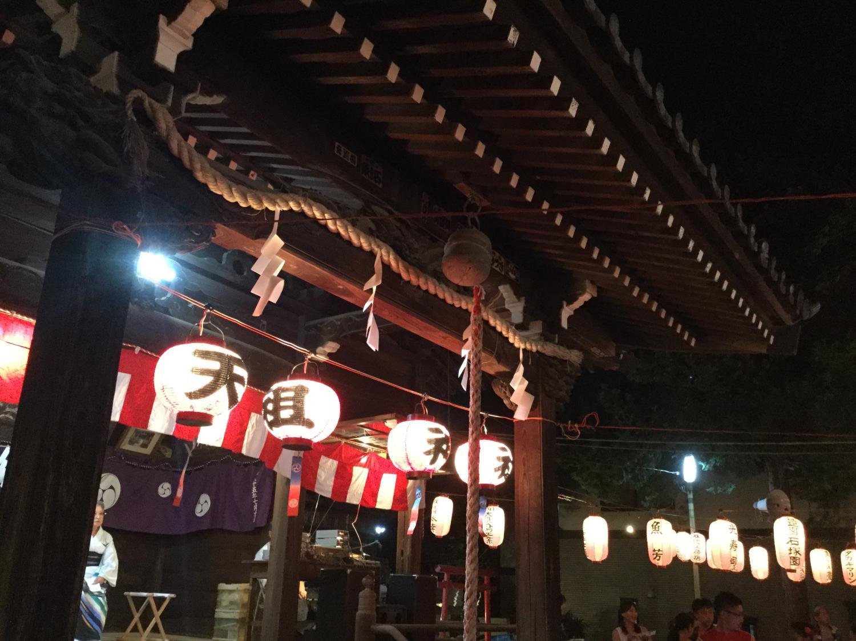 Annual festival image of Shimoshakujii Emperor's ancestors Shrine