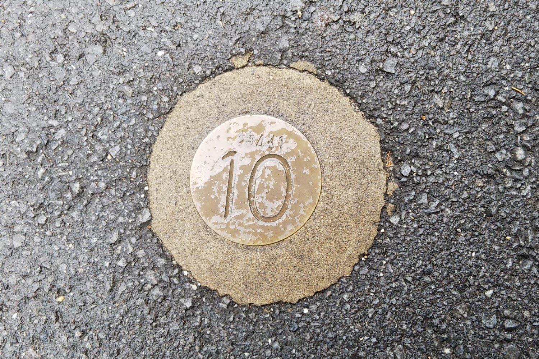 富士街道的10k標記圖片