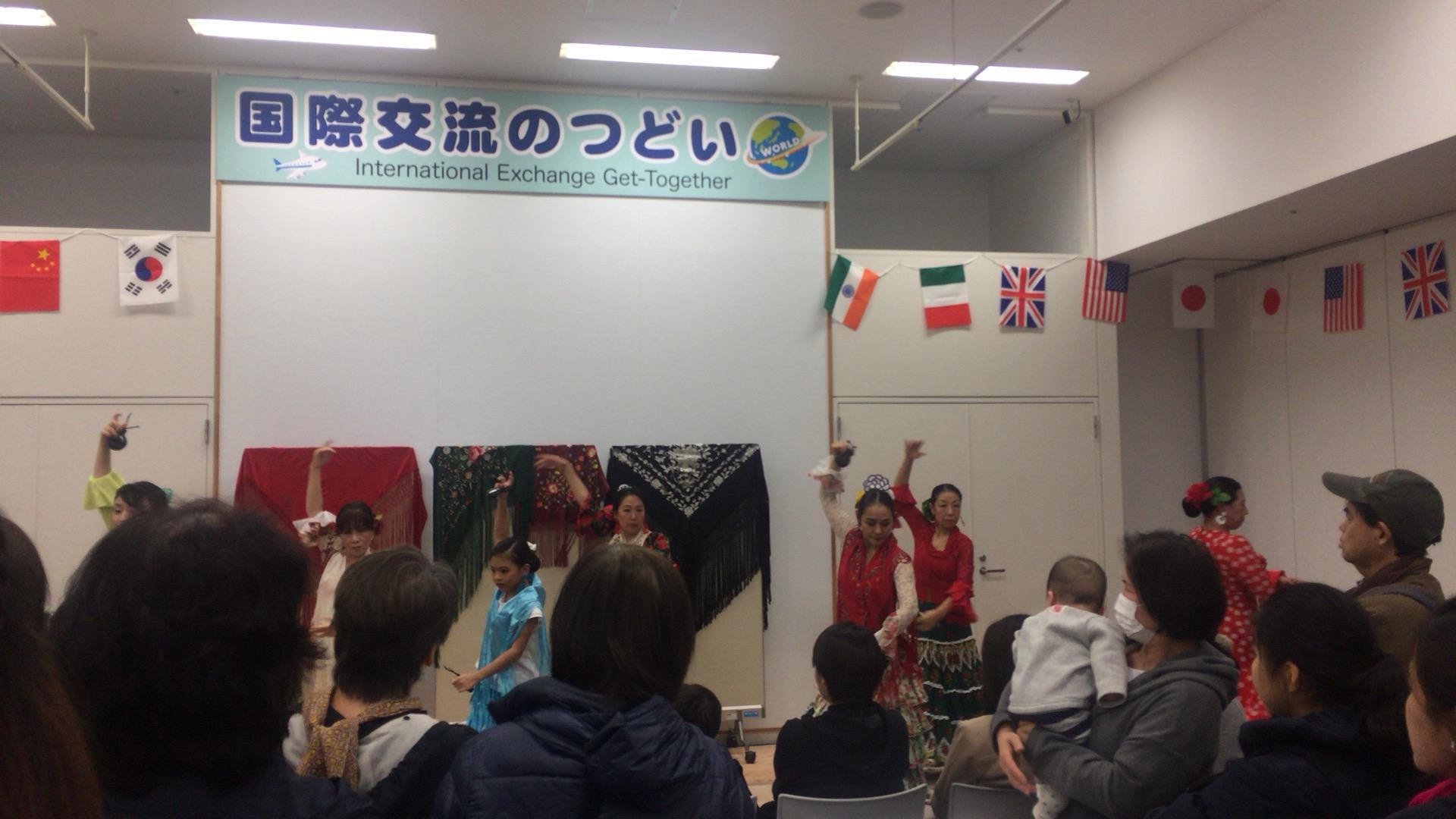 Gathering image of international exchange