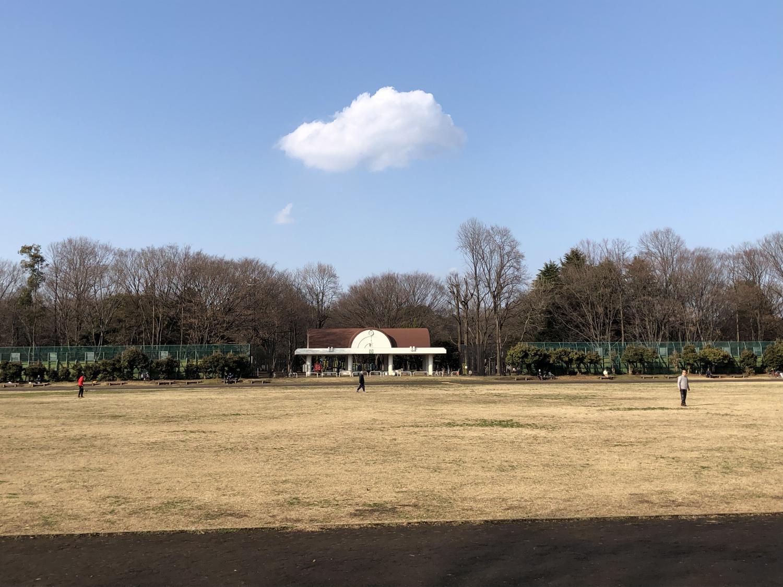 春天的雲圖片