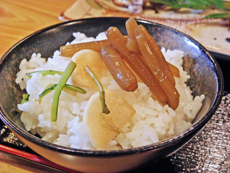 Asahicho, Nerima-ku lunch set meal Japanese radish image
