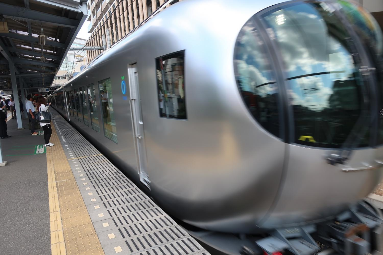 SEIBU Railway new model limited express Laview
