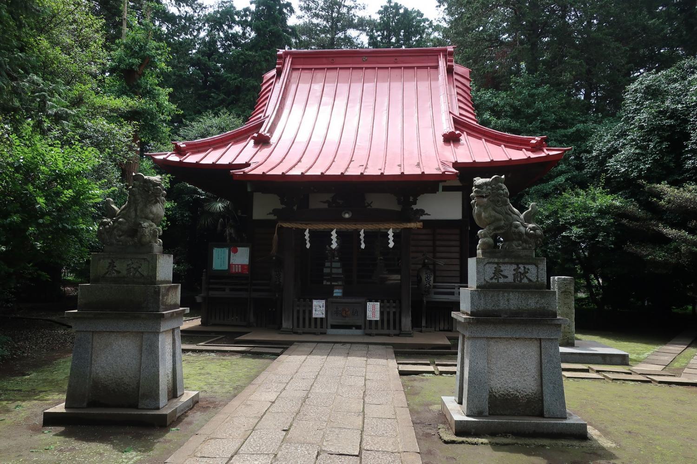 Emperor's ancestors Wakamiya Hachiman shrine