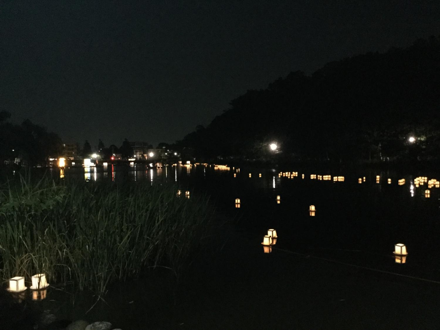 Transformation (?) image of annual boat pond