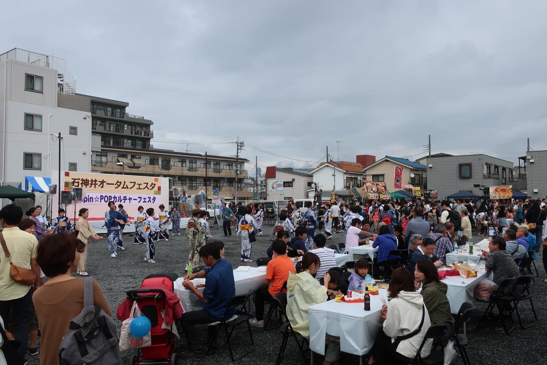 Shakujii autumn festival