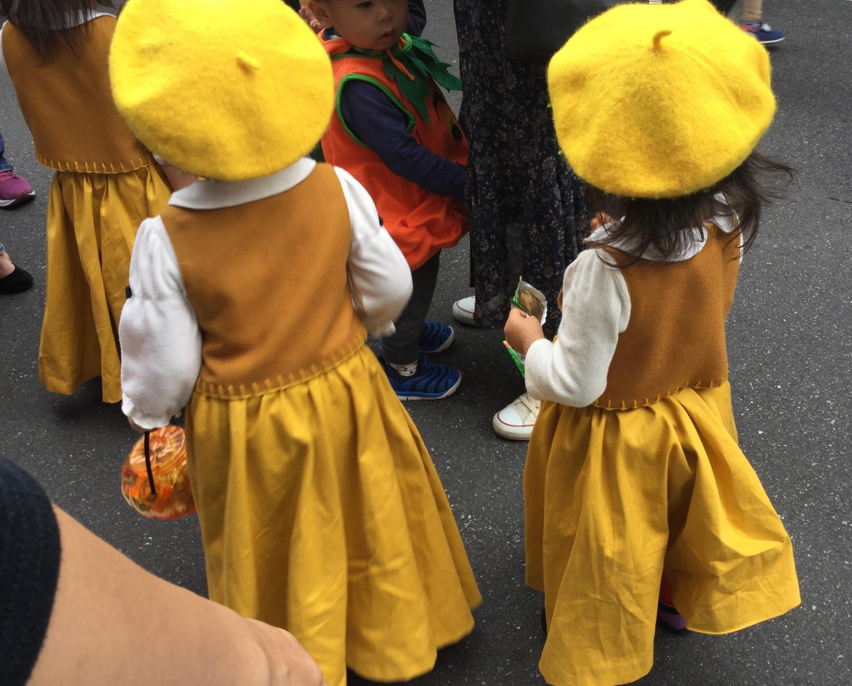 装扮成的小孩们①图片