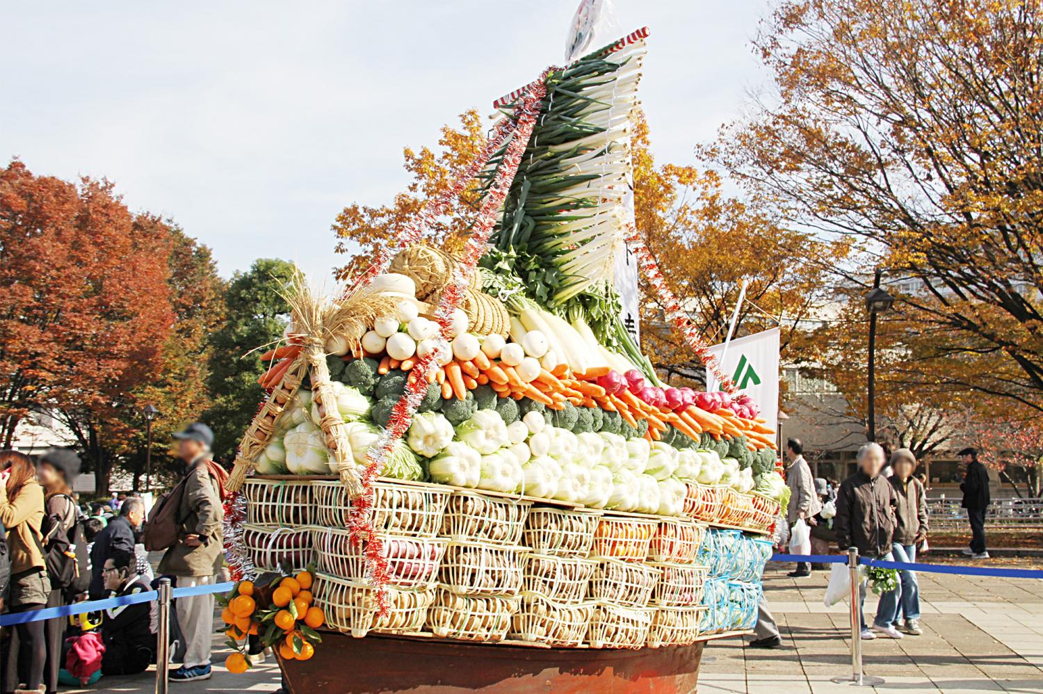"""We are powerful by the holding 20th anniversary! Let's enjoy autumn of crop by """"JA Tokyo green leaves agriculture festival""""!  Image"""