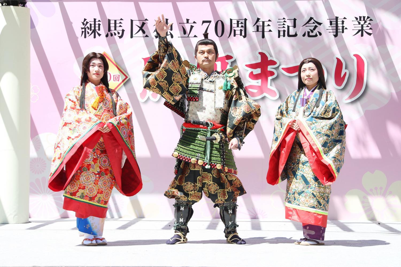 """石神井公园heiza上阵在""""照姫祭""""出去吧! 图片"""