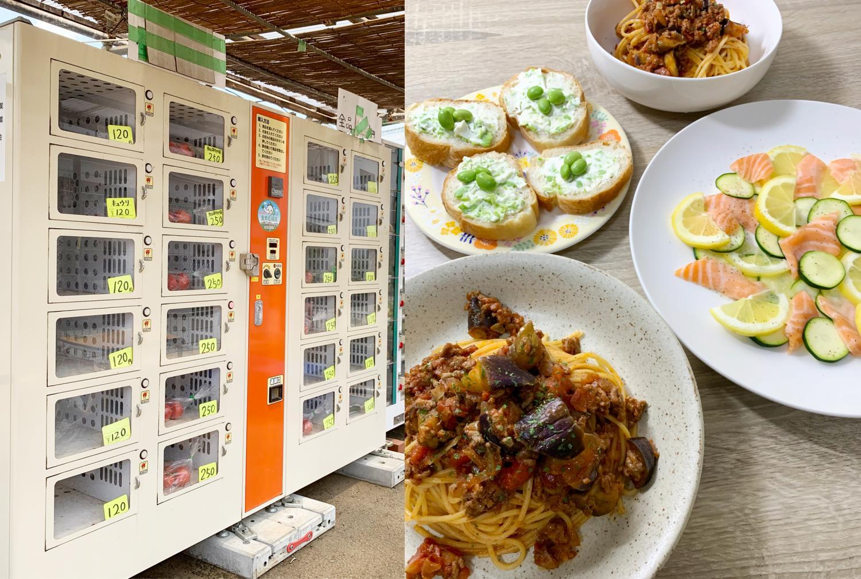 夏天,想吃!有当地的夏天能在介绍&夏天蔬菜在用了蔬菜的简单的意大利的食谱获得的无人的销售处报告,图片