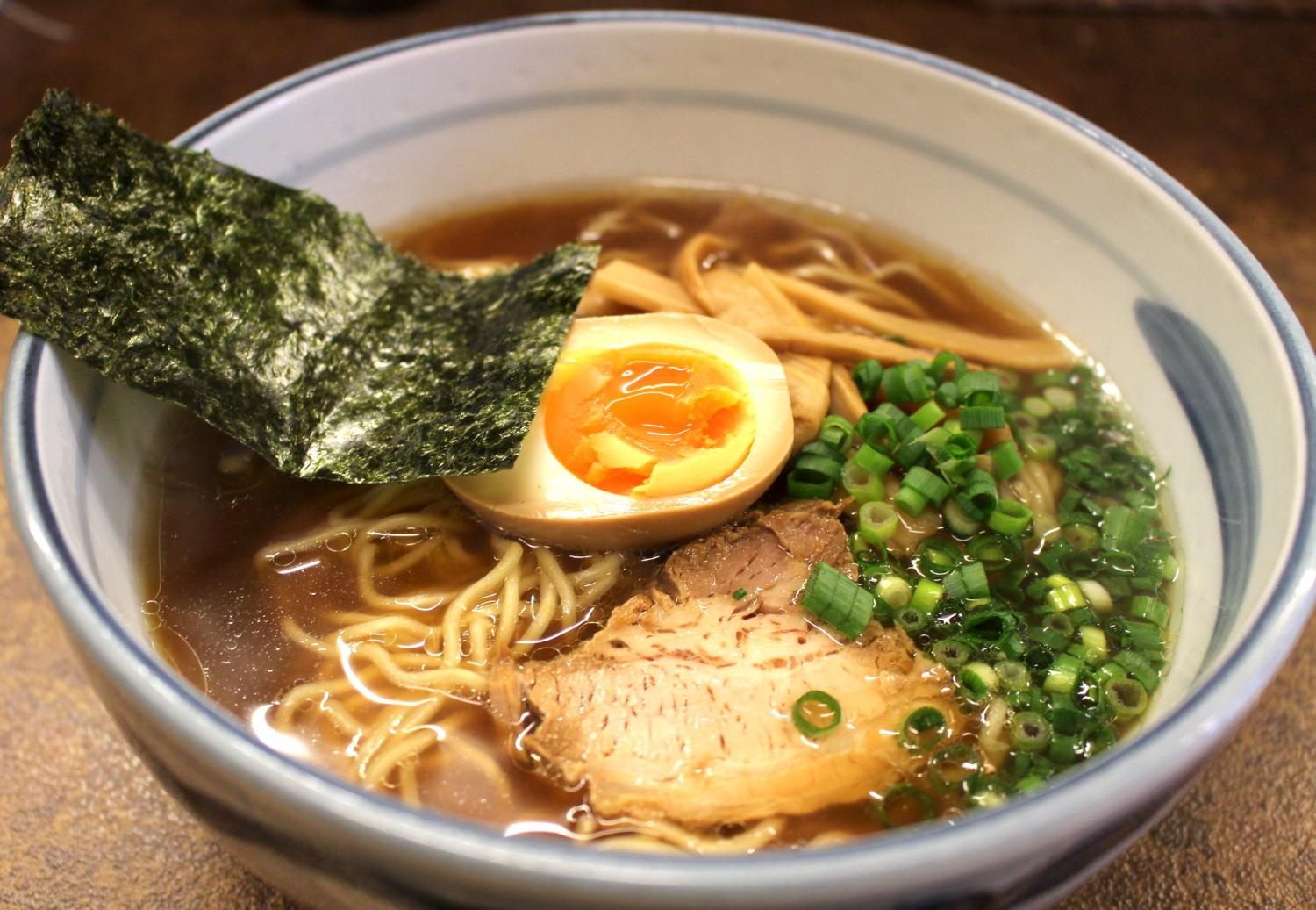 Stylish soy sauce ramen - image which feels article in bonishimo ...