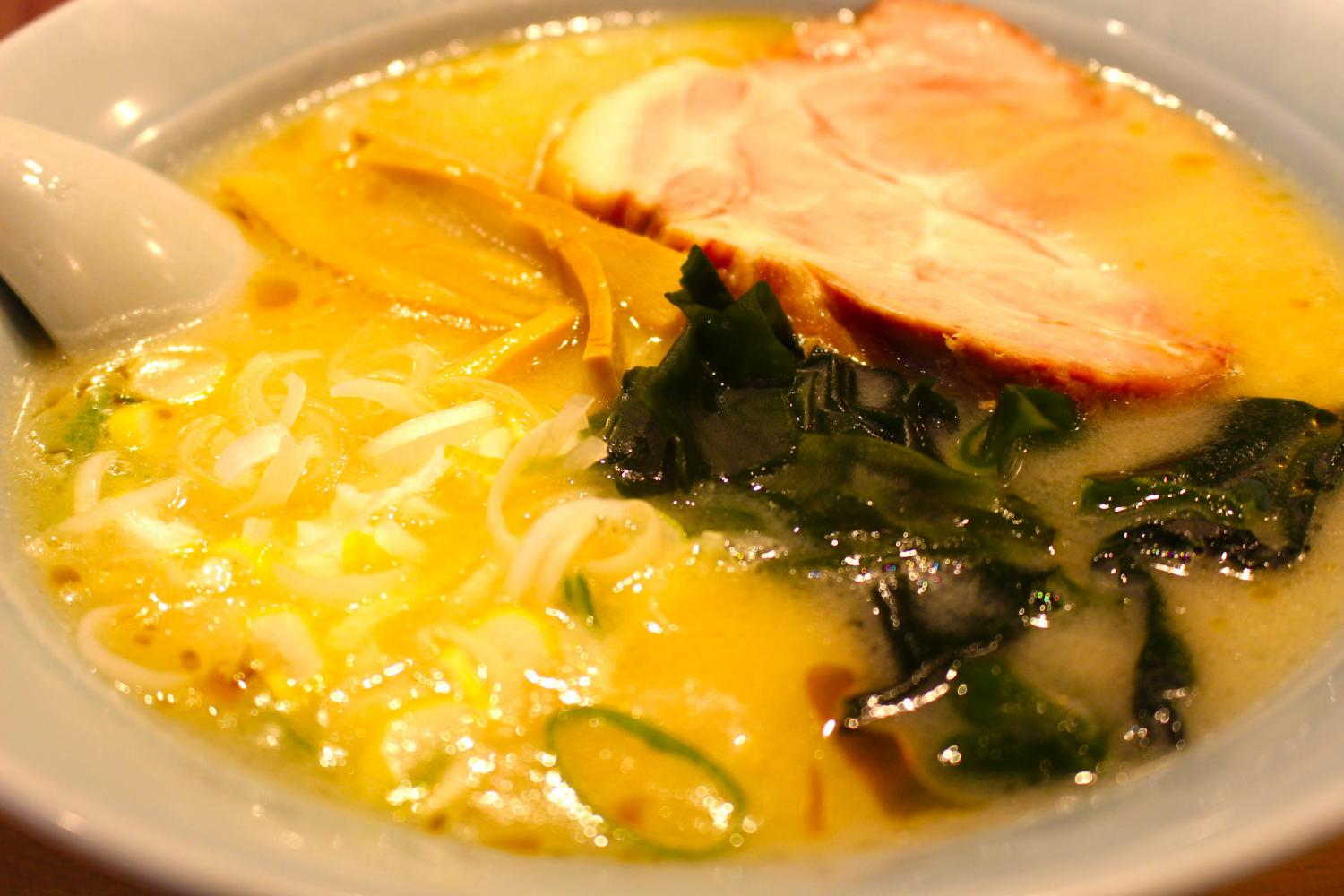 Registering is lightly blissful - image wrapped in taste ingredient of ... mellow white miso ramen