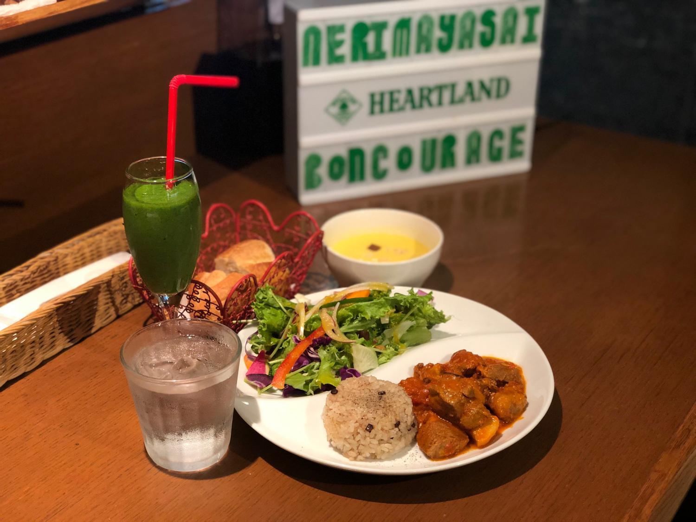 練馬蔬菜×小餐館BONCOURAGE