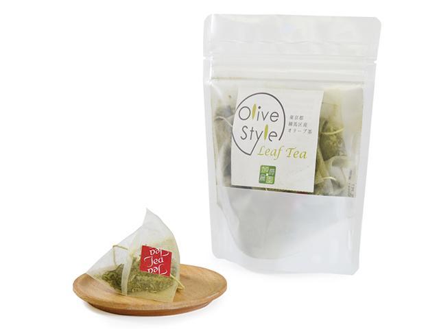 Olives leaf tea