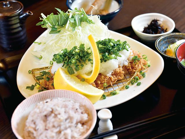 Pork cutlet with Grated radish