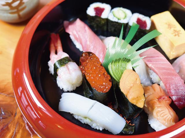 顶级的寿司
