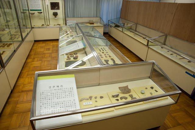 The remains of Ozaki material exhibition room
